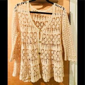 Free People Knitted Cover up